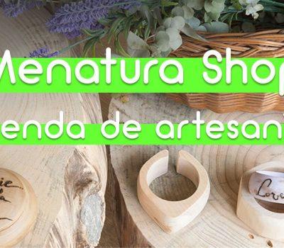 Menatura Shop, conocemos una tienda de artesanía y tallado en madera